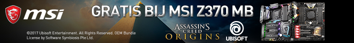 Gratis game bij MSI producten!