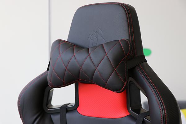 Game Stoel Kopen : Corsair t1 race gaming chair black red foritain userreviews