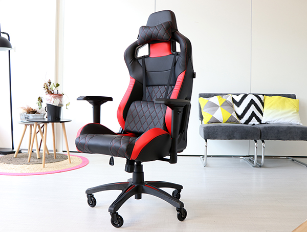 Corsair T1 Race Gaming Chair Review Techtesters