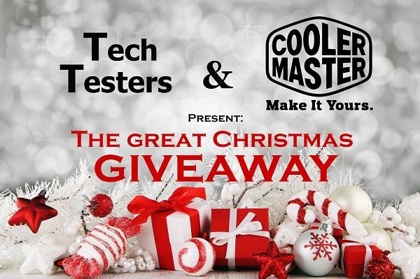 Winnaars cooler master christmas giveaway bekend! tech testers