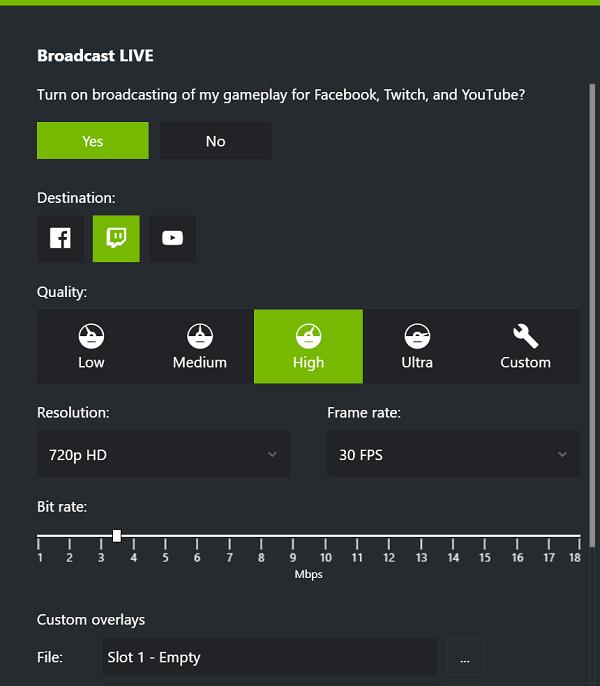 nvidia shadowplay no game audio